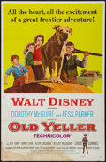 "Movie Posters:Drama, Old Yeller & Others Lot (Buena Vista, R-1974). One Sheets (4)( (27"" X 41""). Drama.. ... (Total: 4 Items)"