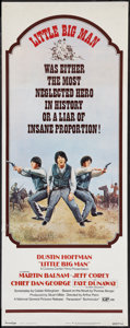 "Movie Posters:Western, Little Big Man (National General, 1971). Insert (14"" X 36""). Western.. ..."