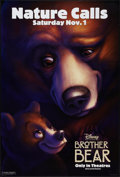 "Movie Posters:Animation, Brother Bear & Other Lot (Buena Vista, 2003). One Sheets (3) (27"" X 40""). DS. Advance. Animation.. ... (Total: 3 Items)"