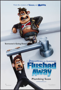 """Flushed Away & Others Lot (Paramount, 2006). One Sheets (3) (27"""" X 40""""). DS Advance & SS Regular. Anim..."""