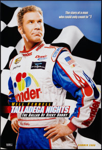 "Talladega Nights: The Ballad Of Ricky Bobby & Other Lot (Columbia, 2006). One Sheets (2) (27"" X 41""). DS..."