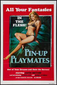 "Pin-Up Playmates & Other Lot (SRC Films, 1972). One Sheets (2) (27"" X 41""). Sexploitation. ... (Total: 2 I..."