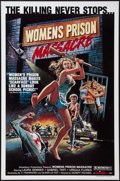 "Movie Posters:Exploitation, Women's Prison Massacre (Unistar, 1984). One Sheet (27"" X 41""). Exploitation.. ..."