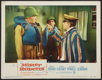 """Mister Roberts (Warner Brothers, 1955). Lobby Card (11"""" X 14""""). Comedy"""