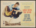 "Movie Posters:Academy Award Winners, Gone with the Wind (MGM, R-1961). Title Lobby Card (11"" X 14""). Academy Award Winners.. ..."