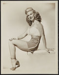 "Movie Posters:Comedy, Ginger Rogers in ""Heartbeat"" (RKO, 1946). Pinup Portrait Photo (8""X 10""). Comedy.. ..."