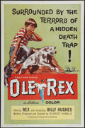"Movie Posters:Western, Ole Rex & Others Lot (Universal International, 1961). One Sheets (3) (27"" X 41"") & Lobby Card Set of 8 (11"" X 14""). Western.... (Total: 11 Items)"