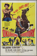"Movie Posters:Western, Oklahoma Territory (United Artists, 1960). One Sheet (27"" X 41"") and Lobby Card Set of 8 (11"" X 14""). Western.. ... (Total: 9 Items)"