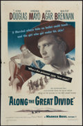 """Movie Posters:Western, Along the Great Divide & Other Lot (Warner Brothers, 1951). One Sheets (2) (27"""" X 41""""). Western.. ... (Total: 2 Items)"""