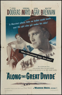 """Along the Great Divide & Other Lot (Warner Brothers, 1951). One Sheets (2) (27"""" X 41""""). Western. ... (Tota..."""