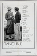 "Movie Posters:Comedy, Annie Hall (United Artists, 1977). One Sheet (27"" X 41""). Comedy.. ..."