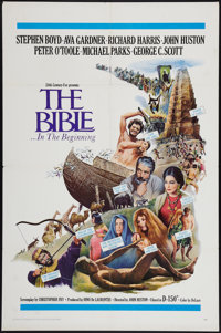 "The Bible & Other Lot (20th Century Fox, 1967). One Sheets (4) (27"" X 41""). Drama. ... (Total: 4 Items)"