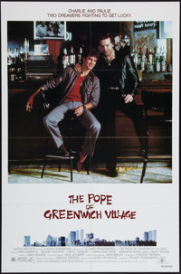 "The Pope of Greenwich Village (MGM/UA, 1984). One Sheet (27"" X 41"") and Lobby Cards (7) (11"" X 14"")..."
