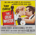 """Movie Posters:Comedy, The Great Impostor and Other Lot (Universal International, 1961). Six Sheet (81"""" X 81"""") and Three Sheet (41"""" X 81""""). Comedy.... (Total: 2 Items)"""
