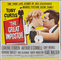 """The Great Impostor and Other Lot (Universal International, 1961). Six Sheet (81"""" X 81"""") and Three Sheet (41&qu..."""