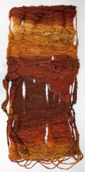 Decorative Arts, Continental:Other , ABAKANOWICZ WOVEN DYED JUTE TAPESTRY . Magdalena Abakanowicz,Warsaw, Poland, circa 1970. 122 x 52 inches (309.9 x 132.1 cm)...