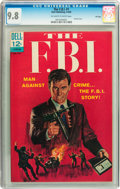 Silver Age (1956-1969):Mystery, The F.B.I. #1 File Copy (Dell, 1965) CGC NM/MT 9.8 Off-white towhite pages....