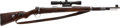 Long Guns:Bolt Action, Yugoslavian Mauser Model 98 Bolt Action Rifle with TelescopicSight....