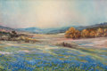 Texas:Early Texas Art - Regionalists, ROBERT WILLIAM WOOD (American, 1889-1979). Texas Springtime.Oil on canvas. 20 x 30 inches (50.8 x 76.2 cm). Signed lowe...