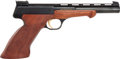 Handguns:Semiautomatic Pistol, Cased Presentation Browning Semi-Automatic Target Pistol with Accessories....