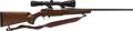 Long Guns:Bolt Action, .22 Hornet Browning A-Bolt Action Rifle with Telescopic Sight....