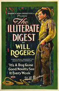 "Movie Posters:Western, The Illiterate Digest (Goldwyn, 1920). One Sheet (27"" X 41"").. ..."