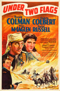 """Movie Posters:Adventure, Under Two Flags (20th Century Fox, 1936). One Sheet (27"""" X 41"""")Style B.. ..."""