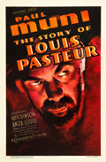 "Movie Posters:Drama, The Story of Louis Pasteur (Warner Brothers, 1935). One Sheet (27""X 41"").. ..."