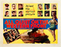 "Movie Posters:Academy Award Winners, All Quiet on the Western Front (Universal, 1930). Half Sheet (22"" X 28"") Style B.. ..."