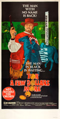 """Movie Posters:Western, For a Few Dollars More (United Artists, 1967). Australian Three Sheet (40"""" X 79"""").. ..."""