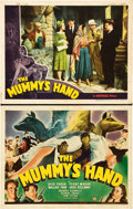 "Movie Posters:Horror, The Mummy's Hand (Universal, 1940). Title Lobby Card and Lobby Card(11"" X 14"").. ... (Total: 2 Items)"