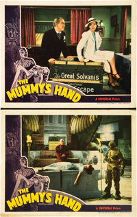 "The Mummy's Hand (Universal, 1940). Lobby Cards (2) (11"" X 14""). ... (Total: 2 Items)"