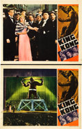 "Movie Posters:Horror, King Kong (RKO, R-1938). Lobby Cards (2) (11"" X 14""). Horror.. ...(Total: 2 Items)"