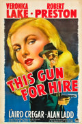 "This Gun for Hire (Paramount, 1942). One Sheet (27"" X 41"")"