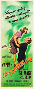"Movie Posters:Miscellaneous, It's a Wonderful Life (RKO, 1946). Insert (14"" X 36"").. ..."