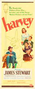 "Movie Posters:Comedy, Harvey (Universal International, 1950). Insert (14"" X 36"").. ..."