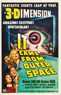 "Movie Posters:Science Fiction, It Came from Outer Space (Universal International, 1953). One Sheet (27"" X 41"") 3-D Style.. ..."