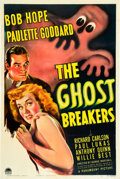 "Movie Posters:Comedy, The Ghost Breakers (Paramount, 1940). One Sheet (27"" X 41"").. ..."