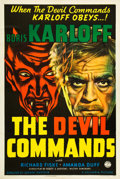 """Movie Posters:Horror, The Devil Commands (Columbia, 1941). One Sheet (27"""" X 41"""").. ..."""