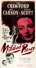 "Movie Posters:Film Noir, Mildred Pierce (Warner Brothers, 1945). Three Sheet (41"" X 81"")....."