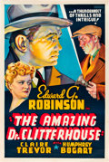 "Movie Posters:Crime, The Amazing Dr. Clitterhouse (Warner Brothers, 1938). Other CompanyOne Sheet (27.5"" X 41.5"").. ..."