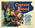 "Movie Posters:Adventure, Captain Blood (First National, 1935). U.S. Title Lobby Card (11"" X14"").. ..."