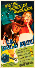 "Movie Posters:Film Noir, The Blue Dahlia (Paramount, 1946). Spanish Language Three Sheet(41"" X 81"").. ..."