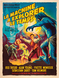 """Movie Posters:Science Fiction, The Time Machine (MGM, 1960). French Grande (47"""" X 63"""").. ..."""