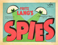"Movie Posters:Thriller, Spies (MGM, 1928). Title Lobby Card (11"" X 14"").. ..."