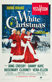 "White Christmas (Paramount, 1954). One Sheet (27"" X 41"")"