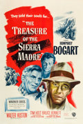 "Movie Posters:Film Noir, The Treasure of the Sierra Madre (Warner Brothers, 1948). One Sheet(27"" X 41"").. ..."