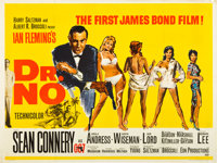 "Dr. No (United Artists, 1962). British Quad (30"" X 40"")"