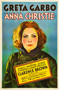 "Anna Christie (MGM, 1930). One Sheet (27"" X 41"")"