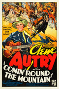 "Movie Posters:Western, Comin' Round the Mountain (Republic, 1936). One Sheet (27"" X 41"")....."